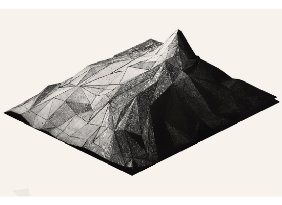 Topography of war Mountain